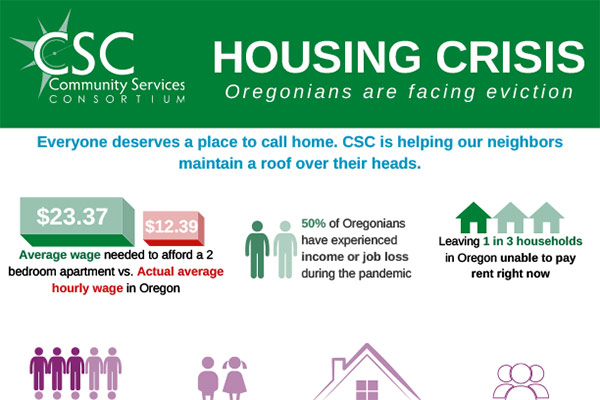 Housing Crisis Inforgraphic